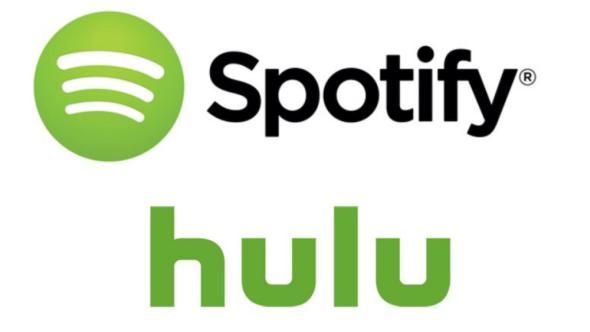 Spotify and Hulu