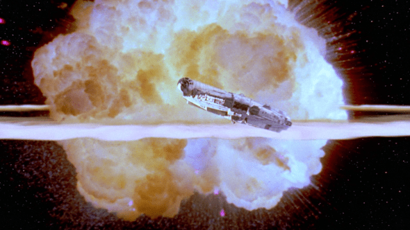 Star Wars' Death Star Explosion