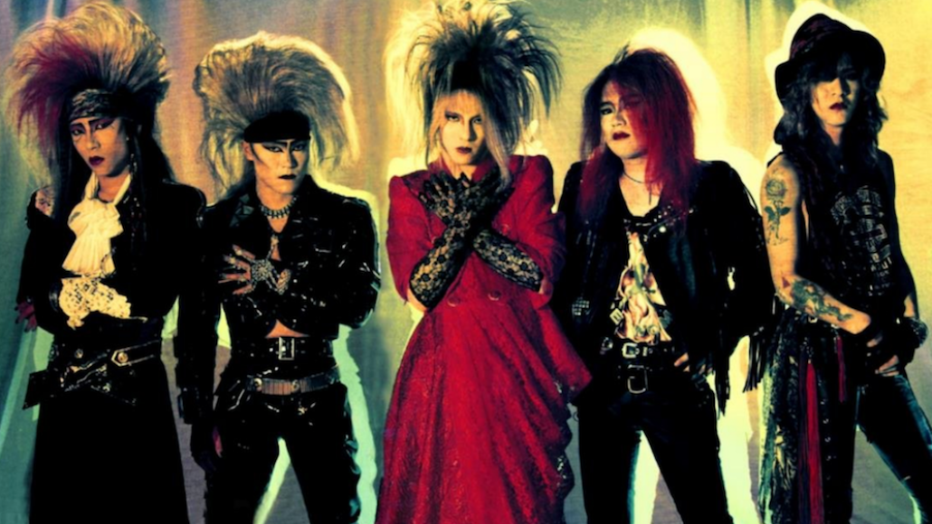 X Japan in the late '80s