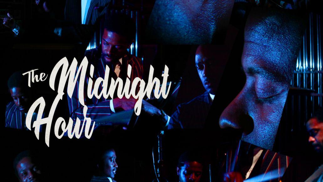 Ali Shaheed Muhammad Adrian Younge The Midnight Hour Album Artwork