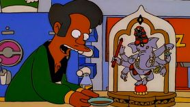 Apu of The Simpsons