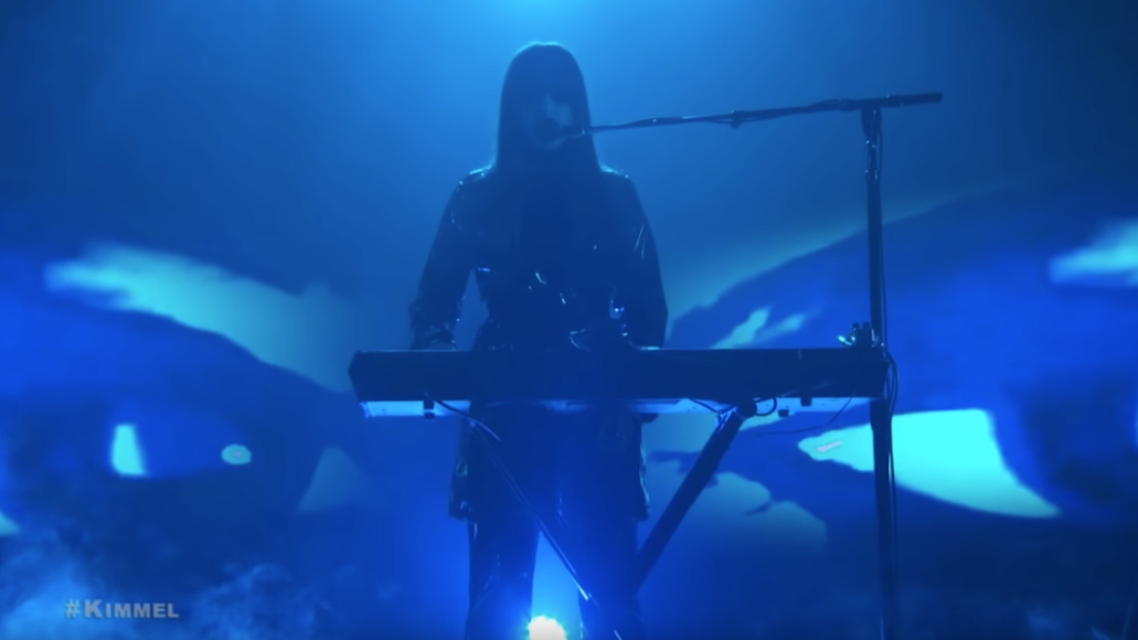 Beach House Drunk in LA Jimmy Kimmel Blue Smoke Eyes