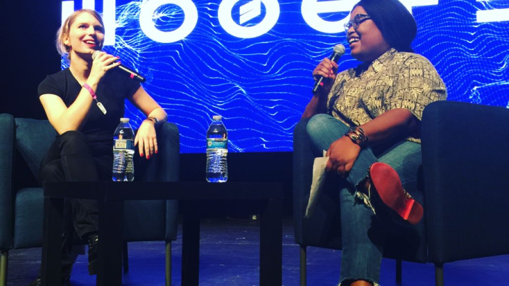 Chelsea Manning at Moogfest 2018