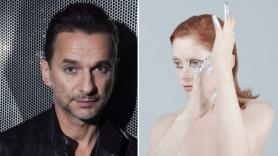 Depeche Mode's Dave Gaha and Goldfrapp