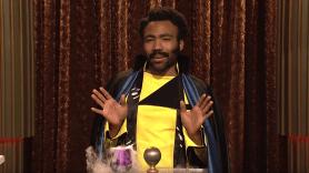 Donald Glover as Lando Calrissian on Saturday Night Live