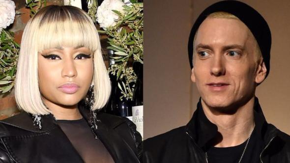 Nicki Minaj and Eminem