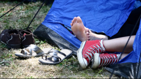 More than half of festival-goers are interested in a weekend fling