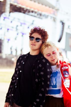 Girlpool, photo by Caroline Daniel