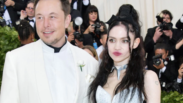 Grimes defends Elon Musk and company's business practices