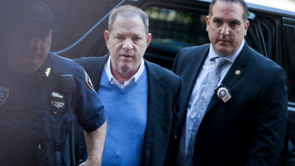 Harvey Weinstein taken into custody in New York City on Friday