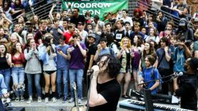 Jack White surprises Woodrow Wilson high school students