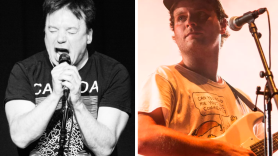 Mike Myers and Mac DeMarco (photo by Philip Cosores)