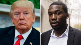 President Donald Trump Meek Mill Prison Reform White House Meeting