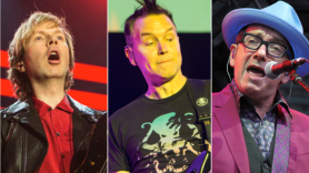 Beck (Philip Cosores), Blink-182 (Cosores), Elvis Costello (Brittany Brassell)