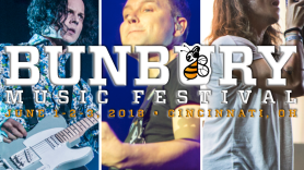 Bunbury 2018 Headliners, photos by David Brendan Hall (Jack White), Philip Cosores (Blink-182 & Incubus)