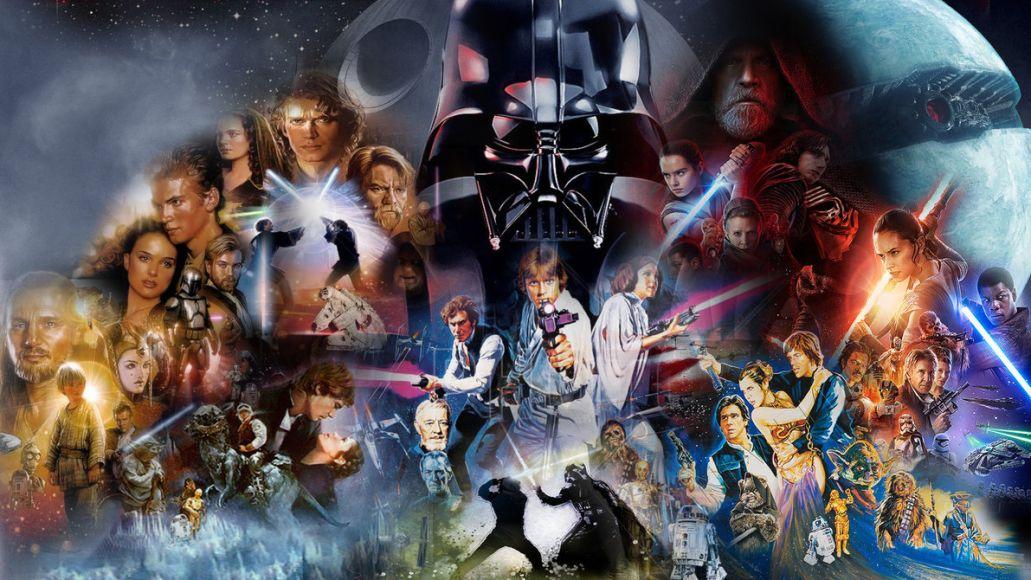 Star Wars Skywalker Saga Collage