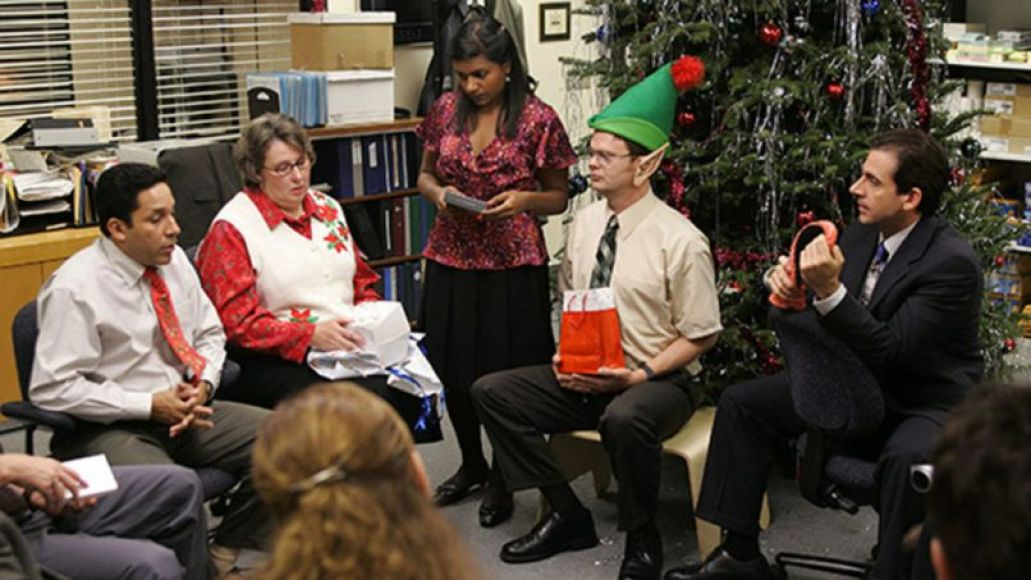 the office - christmas party