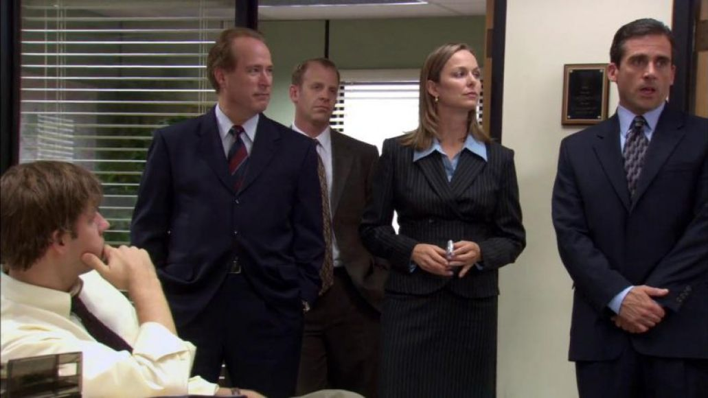 the office - sexual harassment