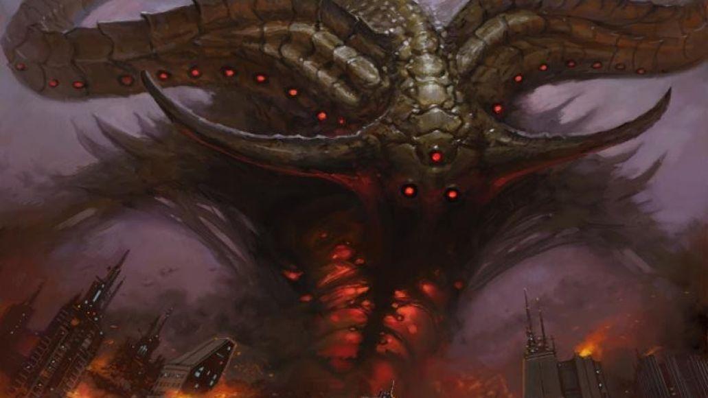 Thee Oh Sees Overthrown Smote Reverser Single Album Artwork Demon