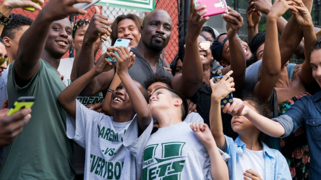 Marvel's Luke Cage Mike Colter