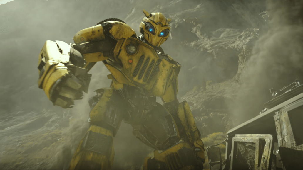 Bumblebee transformers spin-off prequel movie trailer