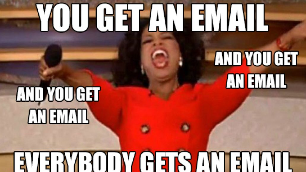 Oprah Winfrey Email Meme You Get An Email