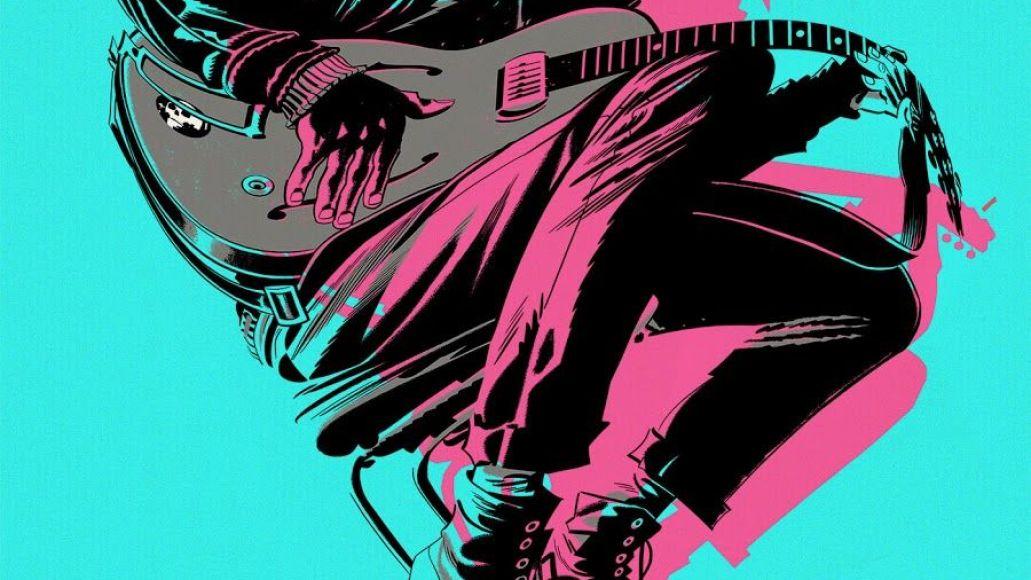 Gorillaz The Now Now album artwork cover 2d Guitar