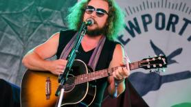 Jim James solo acoustic tour ben kaye newport folk festival