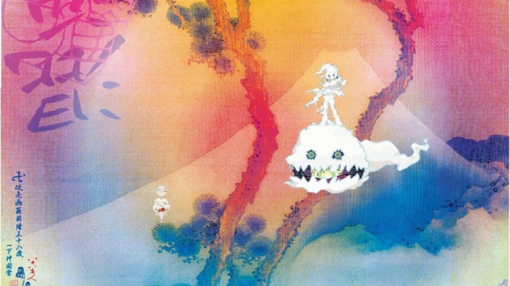 kids see ghosts album artwork cover kanye west kid cudi takashi murakami Ranking Every Kanye West Album From Worst to Best