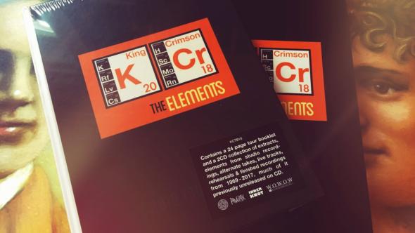 King Crimson The Elements 2018 Box Set faces cd tour