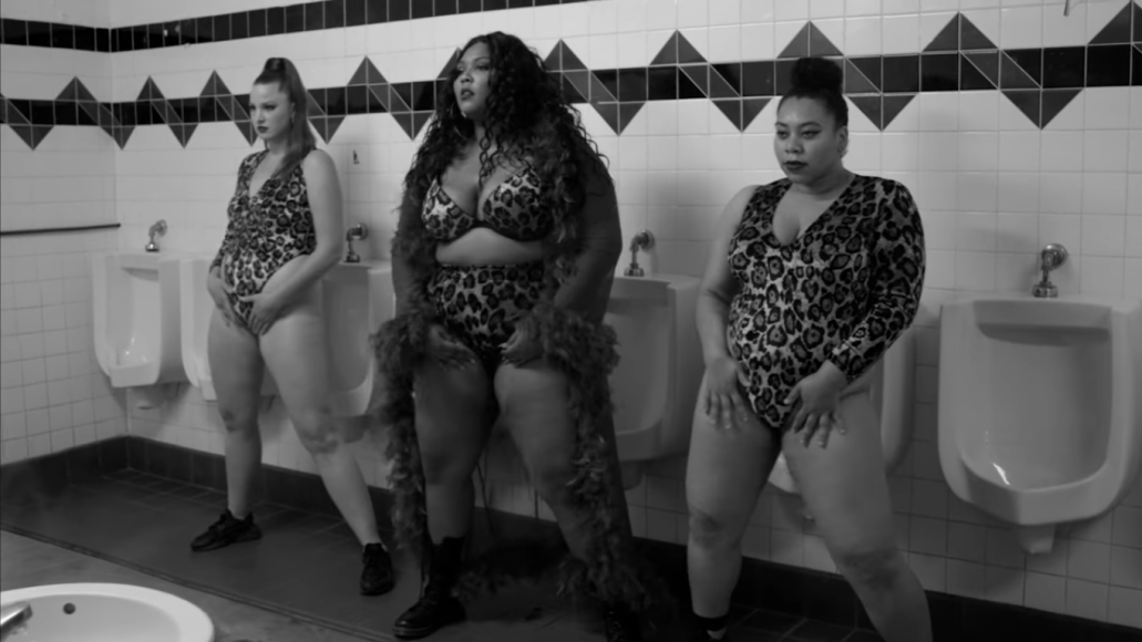 lizzo boys new song music video