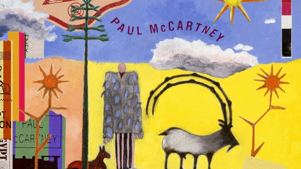 McCartney Egypt Station Artwork