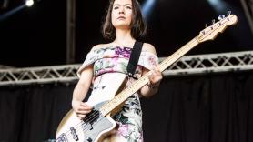 Mitski 2018 North American Tour Bass photo by Philip Cosores