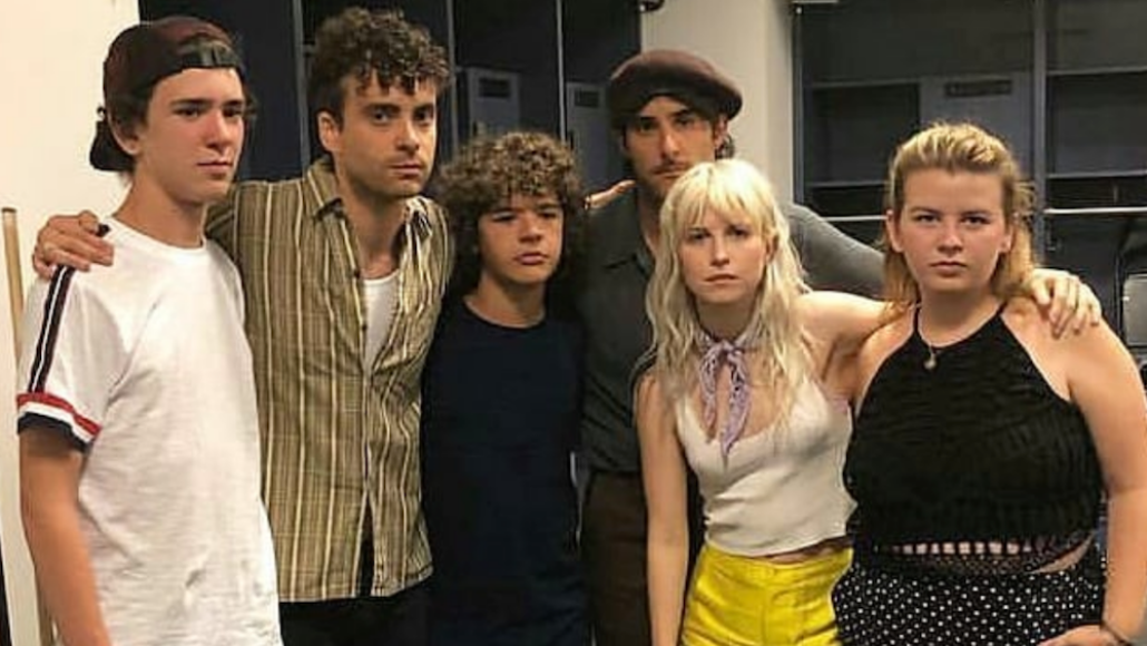 """Watch Paramore and Gaten Matarazzo perform """"Misery Business"""" in Brooklyn"""