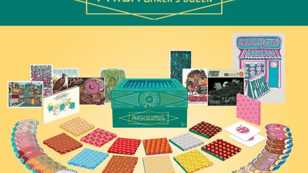 Phish the complete baker's dozen box set cds artwork