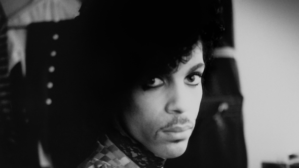 Prince Piano & A Microphone 1983 black and white The Prince Estate : Allen Beaulieu