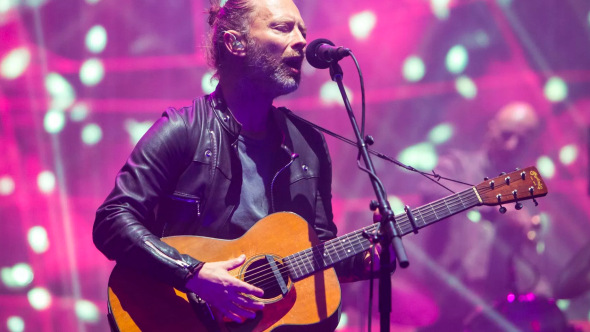 Radiohead come to your senses live soundcheck pink
