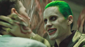 Jared Leto Joker Standalone Film Tan Choke Smile Teeth Suicide Squad DC