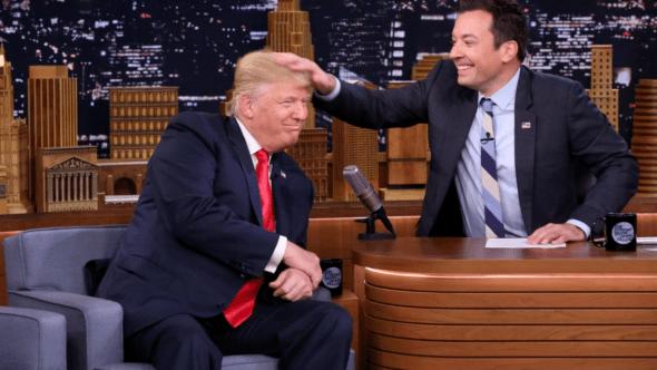 Donald Trump and Jimmy Fallon, NBC
