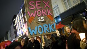 Sex Work March -- Photo by Justin Tallis