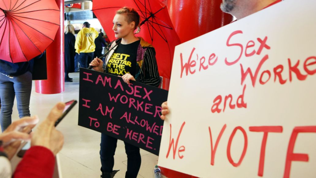 Sex Workers March -- Photo by Ronda Churchill