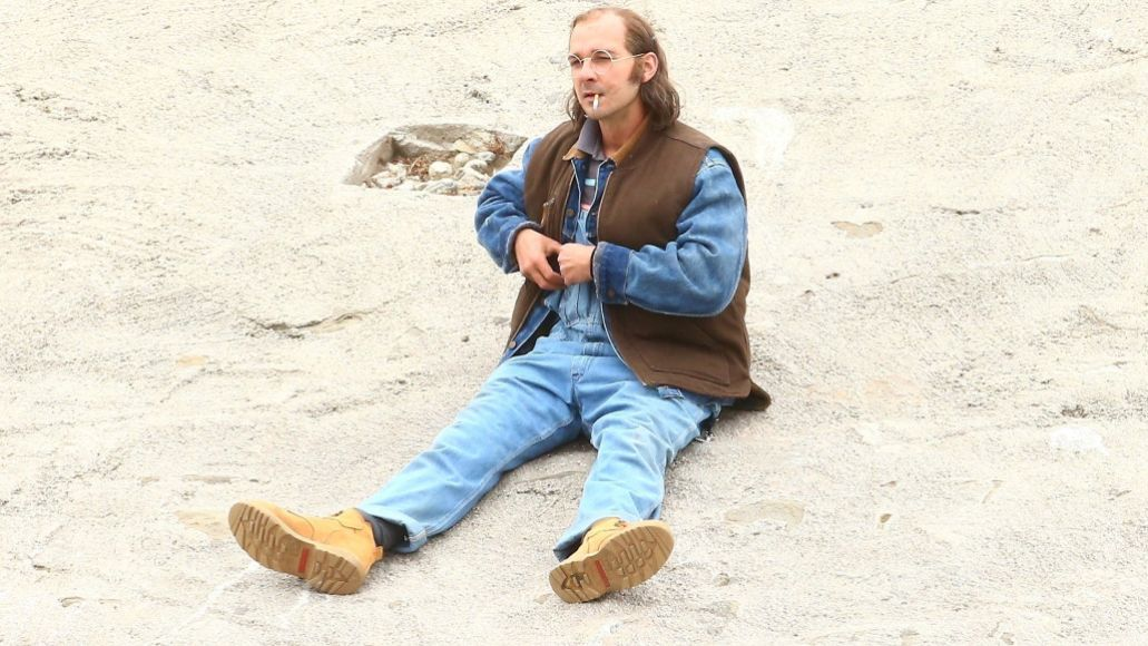 shia labeouf dad cigarette sand sitting honey boy Heres Shia LaBeouf playing his own father in new biopic Honey Boy