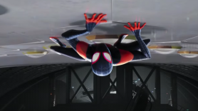 Spider-Man into the spider-verse trailer ultimate spider-man miles morales