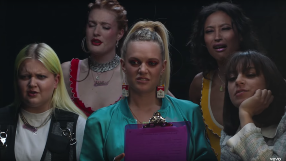 """Tove Lo, Charli XCX, and more in """"Bitches"""" remix video"""