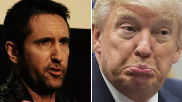Trent Reznor and Donald Trump