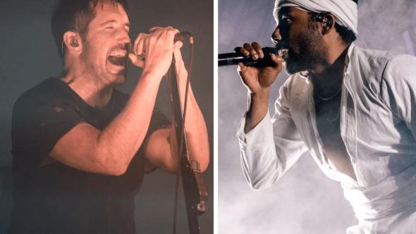 Trent Reznor praises Donald Glover Childish Gambino