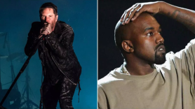 Trent Reznor Kanye West stage production the weeknd