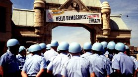 Democratic National Convention, photo by Bettman/CORBIS