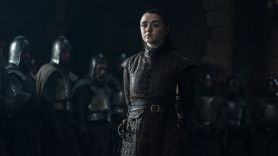 Maisie Williams Game of Thrones Arya Stark HBO soldiers the dragon and the wolf season 7