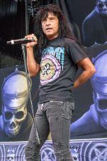Anthrax's Joey Belladonna at Jones Beach July 29, 2018